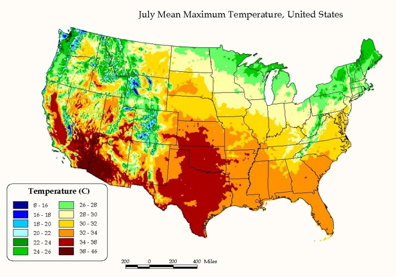 usa-map-maximum-temperature