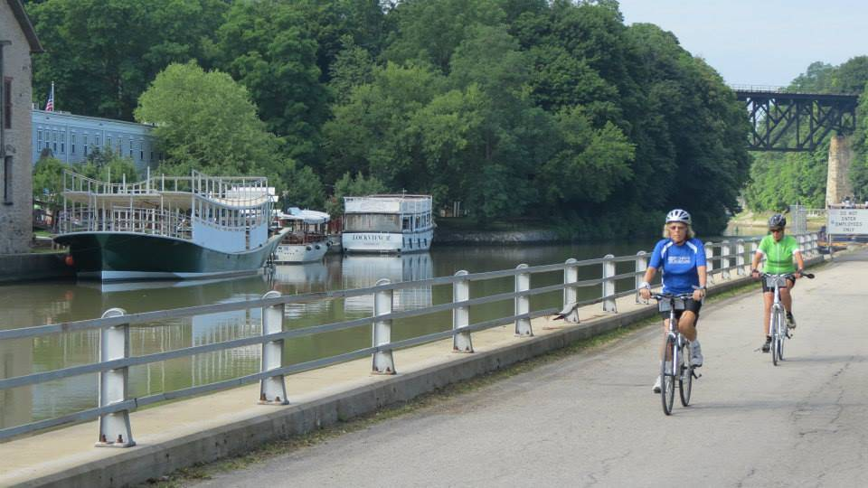 Erie Canal Bicycle Tours