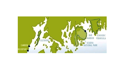 maine-coast-cycling-map