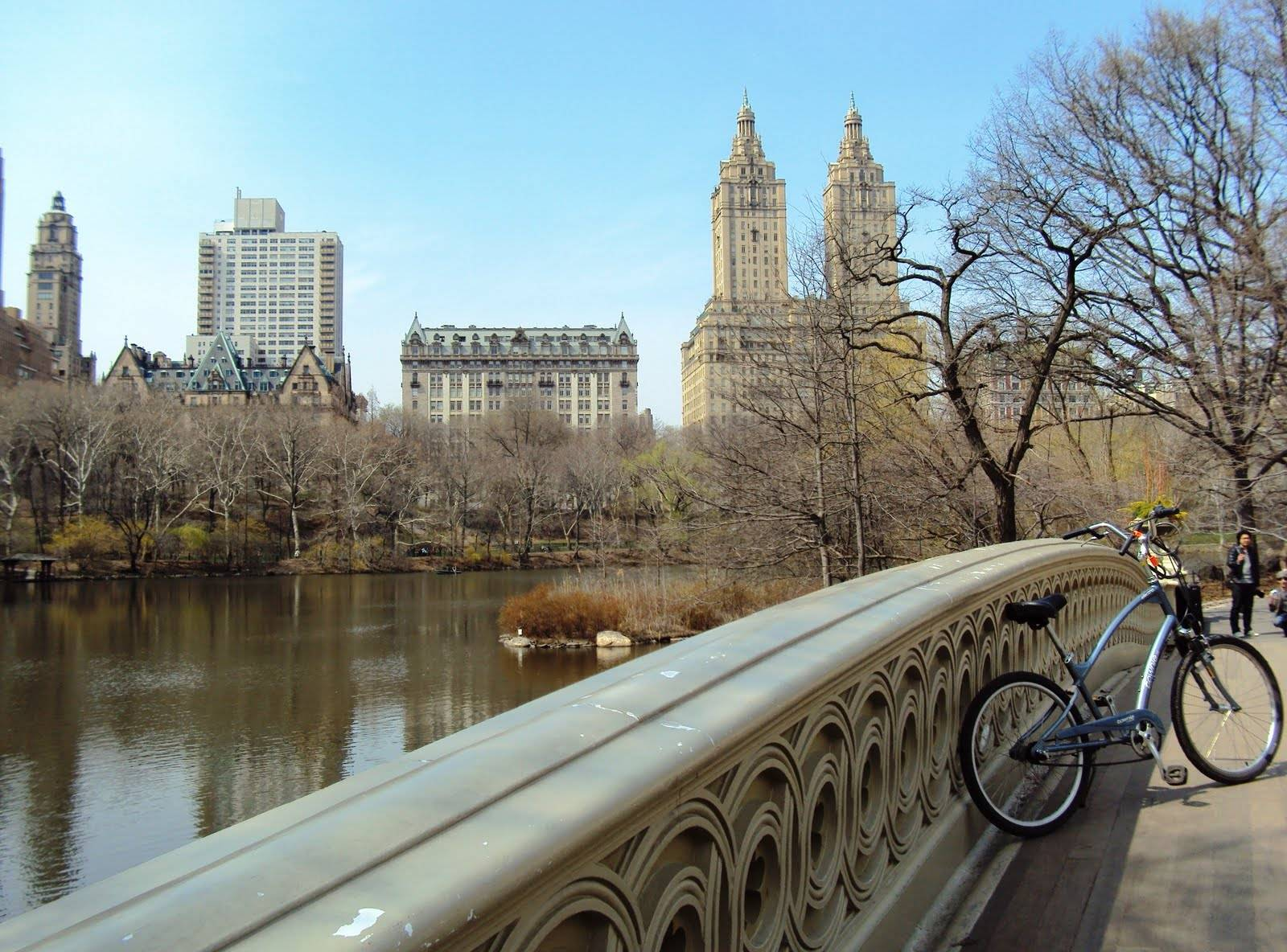 central park dakota bridge bike