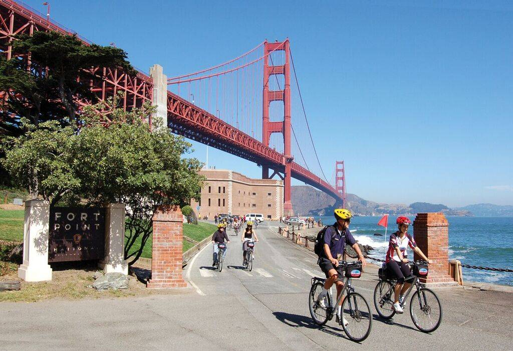 Golden Gate To Sausalito Usa Bike Tours