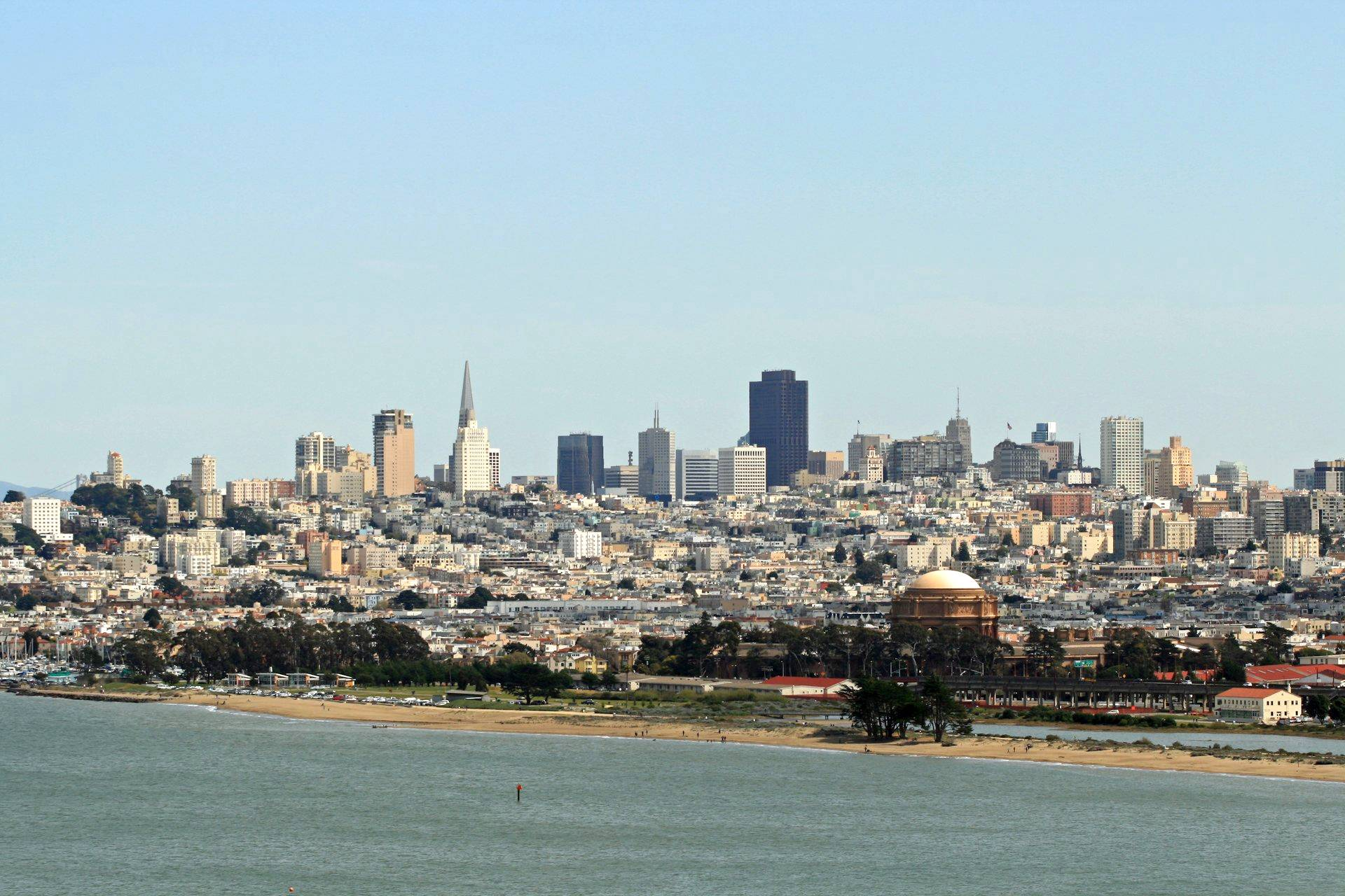 T -San-Francisco-Skyline