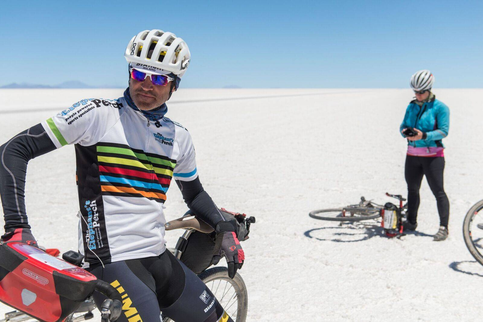 Cycling the Salt flats 2