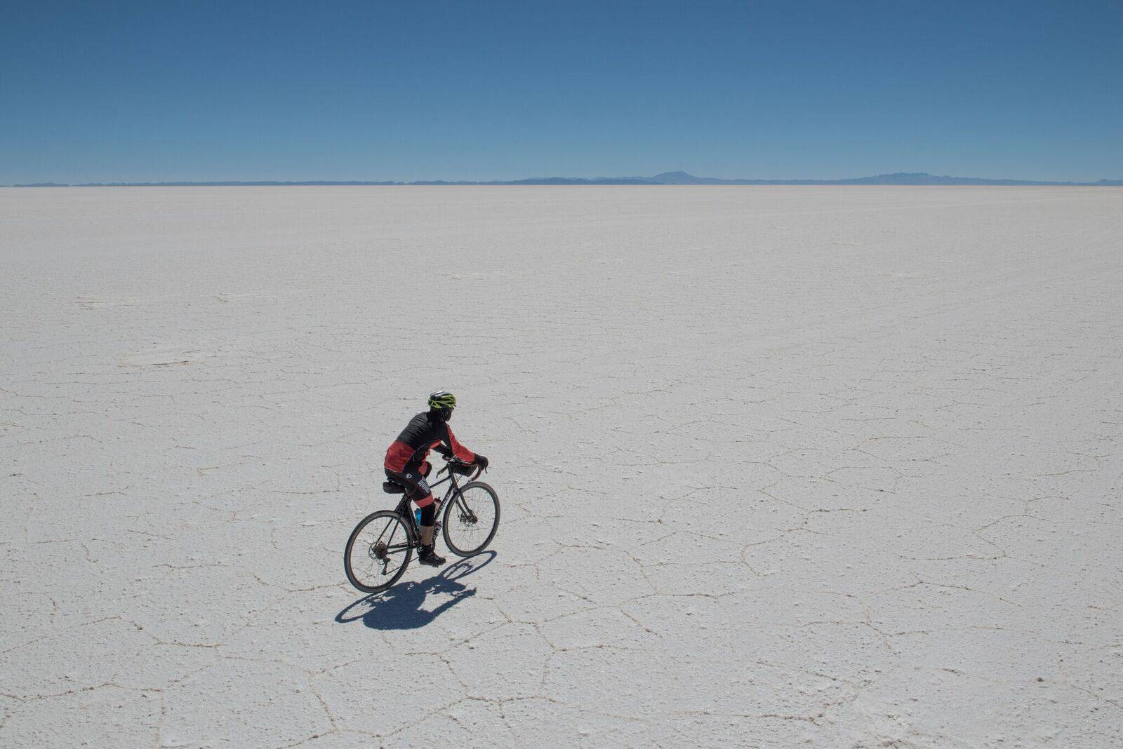 Cycling the Salt flats 1